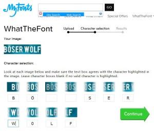 Böser Wolf_Fonts