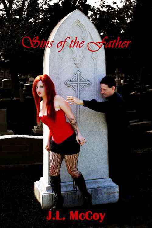 Rothaarige auf dem Friedhof